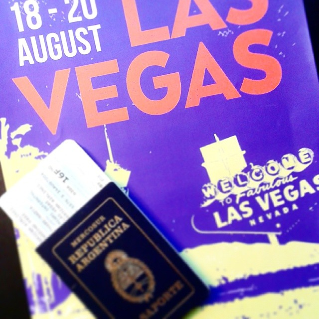 Ready, set,  go!  Next stop >> #LasVegas to present our new SS2015 Collection at #FNPlatform :) #wetrip #WeSeeYou