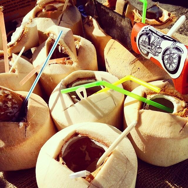 Coconut craze at @urbanairmarket // #refreshyoursoul #urbanairmarket #dogpatch