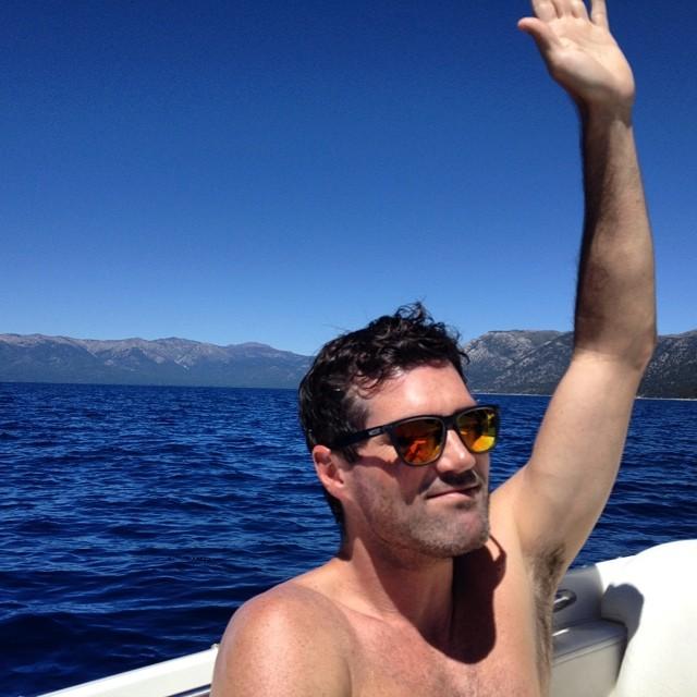 Raise your hand if you got outside this weekend? #GoBigDoGood #GoodPeople #SkateTheLake #LakeTahoe #Tahoe #LakeLife #Boating #BlueBird #thegoodlife #goodweekend #skateboarding #thegreatoutdoors #nature #mountainlife Rad sunnies by @nectar