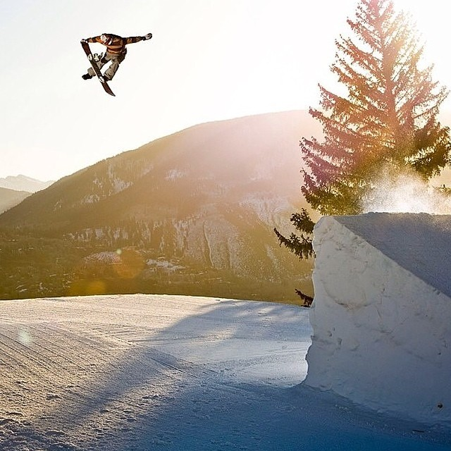 #regram from @scottyvine for a photo from @darcybacha from a sunrise shoot @aspensnowmass a few years ago.