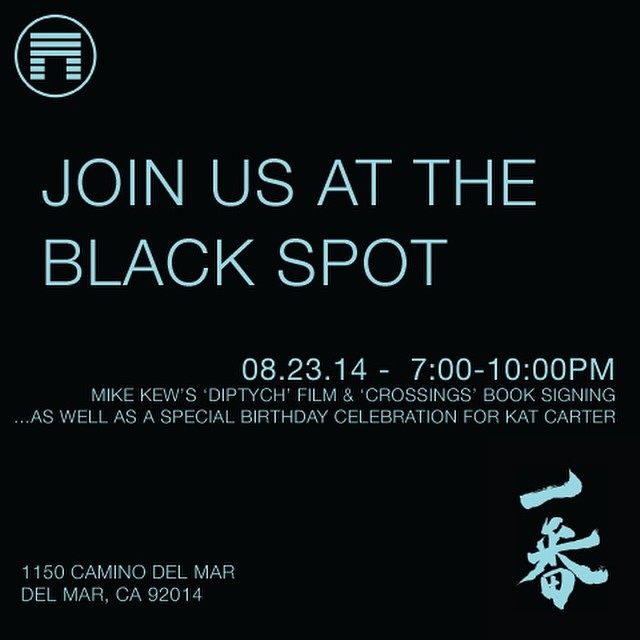 Join Us : This Saturday 8/23 at The Black Spot : 1150 Camino Del Mar @surfkat @peatheadq #lovematuse