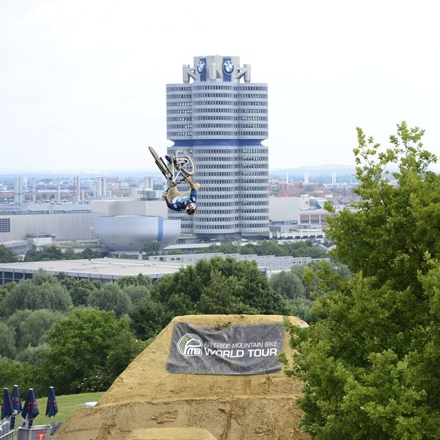 In 2013, @camzink showed us he could flip off of anything!  Catch his X Games Munich run by clicking the link on our profile page.  This Thursday, Cam will attempt to backflip a world record 100 feet at @mammothmountain.  The #MammothFlip Presented By...