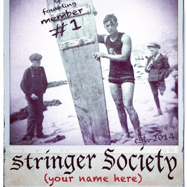 Announcing the launch of our Stringer Society : the surf club for the next 100 years... Wanna join? find out more here:  http://sustainablesurf.org/stringer-society-info/