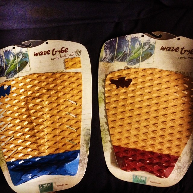 Wave Tribe's new cork deckpads are in!
