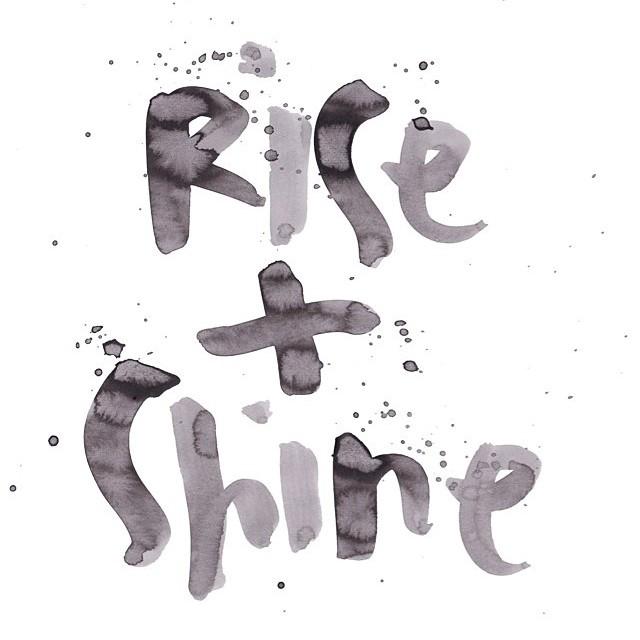 And shine shine shine #allswell