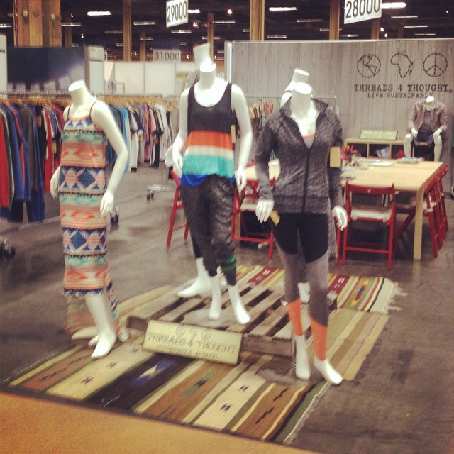 The ladies in Vegas. #lasvegas @projectshows #magic #spring2015 #summerstyle #itsallhappening #display #decor #whathappensinvegas