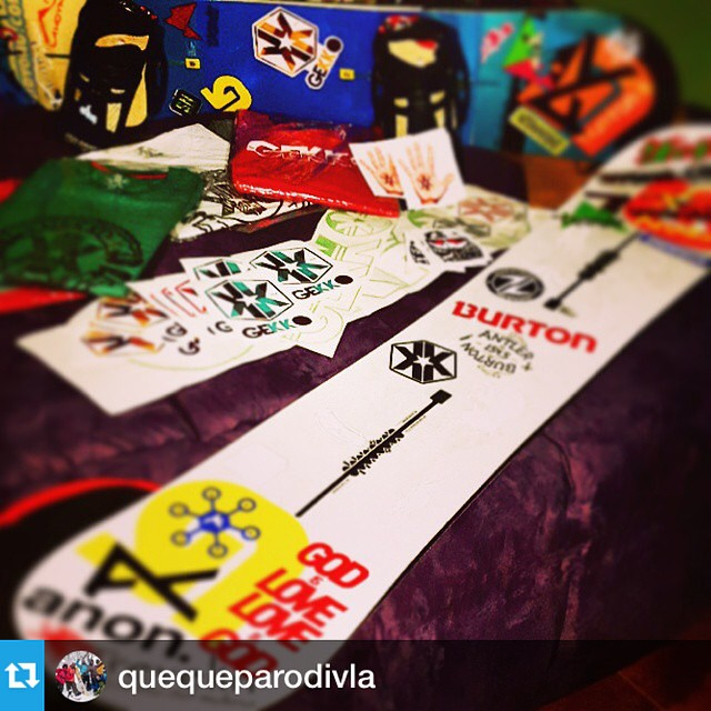 #Repost from @quequeparodivla with @repostapp --- New board !!! New sponsor thanks @gekkoarg  Vaamooss @quequeparodivla !! Ahora a pegarle duroo!