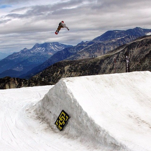 #regram from @eric_willett flying high at @campofchampions at  Blackcomb this summer.