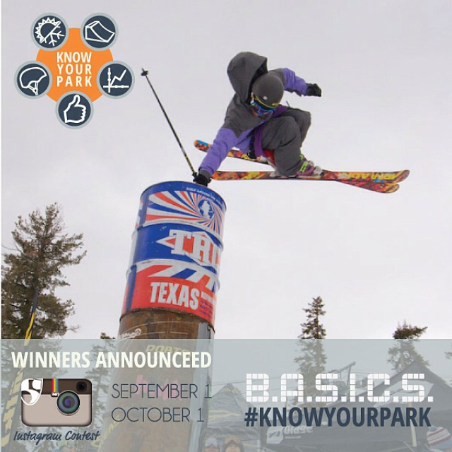 Let's play a game...post an awesome terrain park photo w/ #knowyourpark for a chance to win a prize pack from @pocsports & @volklskis