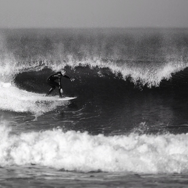 Kyle, South of Boston, June 2014. #coldwatersurf #newengland