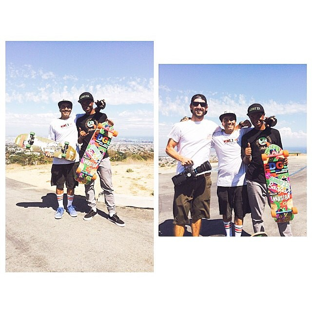 Seems like our boy @_shammar had a great day keeping it #Holesom next to the King @sergioyuppie and boss man @alfusofilm ! Stoked to see what's up! #staysteez #keepitholesom