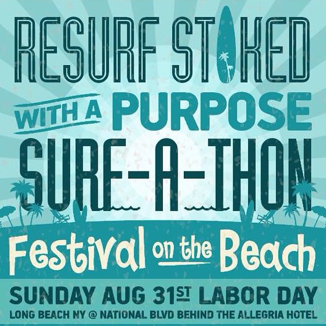 The countdown begins! Want to be a part of our project? volunteer ? Visit us at www.resurf.com