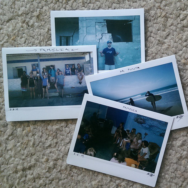 Flashback to May #audiovisual session in #Lobitos with loads of #instax - thank you all!