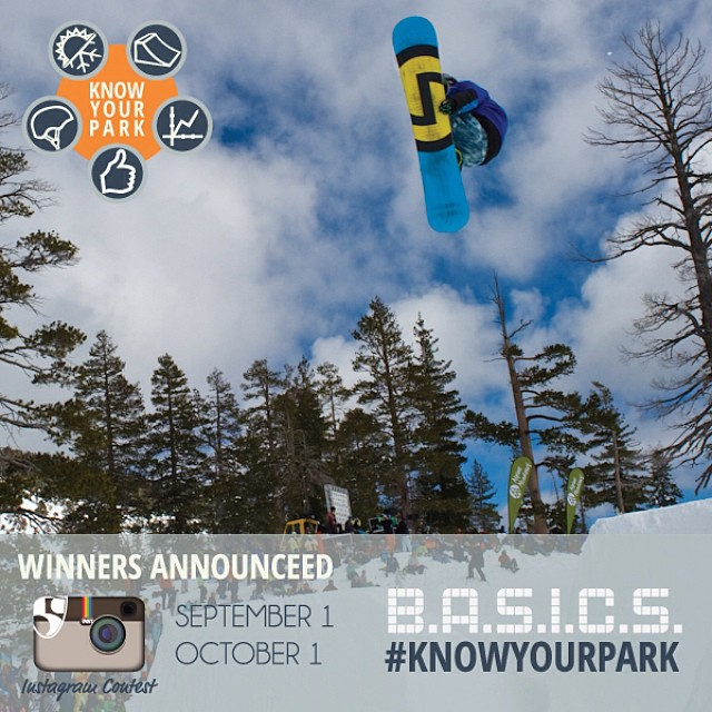Yabba dabba doo! Next winner for #knowyourpark instagram contest announced Oct. 1st. Submit your park photos with #knowyourpark for a chance to win a @volklskis & @pocsports prize pack.