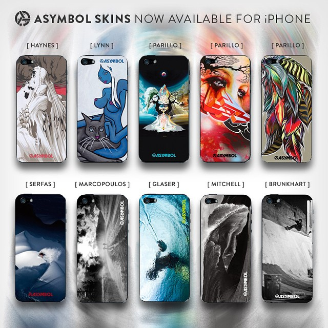 @asymbol iPhone skins have arrived! We precision cut these in our new workshop from durable adhesive vinyl using ultra-high resolution printing. Learn more at Asymbol.co #youriphoneisnaked