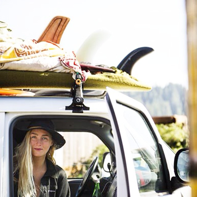 "Welcome to the Good Human Crew Anna Ehrgott! @annaehrgott || ""I strive to be a part of the change in the clothing and surf industry. Another push forward into earth conscious products ruling the market. More specifically, I make board bags with..."