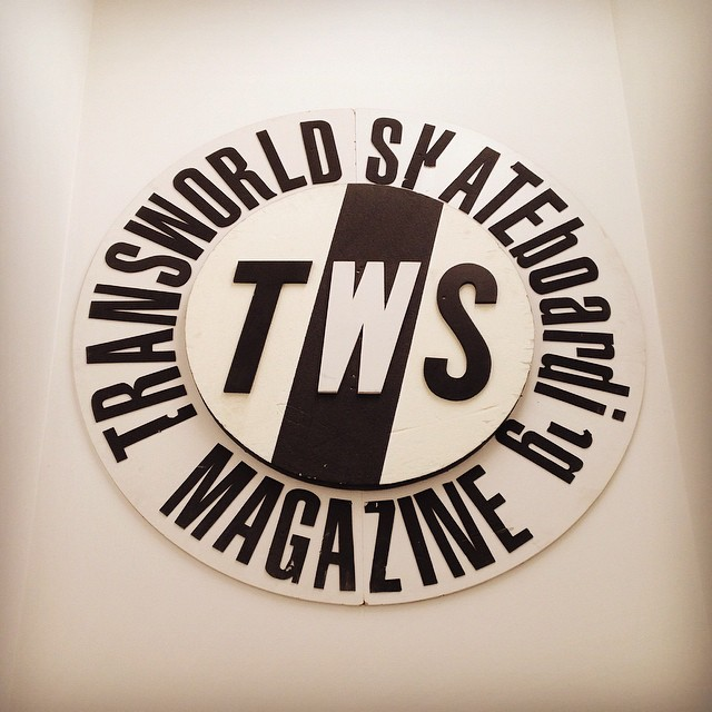 Got to stop by the @twsnow headquarters today and make a bunch of new friends - super rad. Thanks for letting us invade your office today, guys!