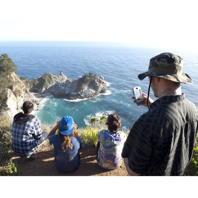 #TBT to #BigSur , CA with some of the boys . Summer #Skate Trip with @nick_trapasso @jamietancowny @dlopes420 @elijahsr |