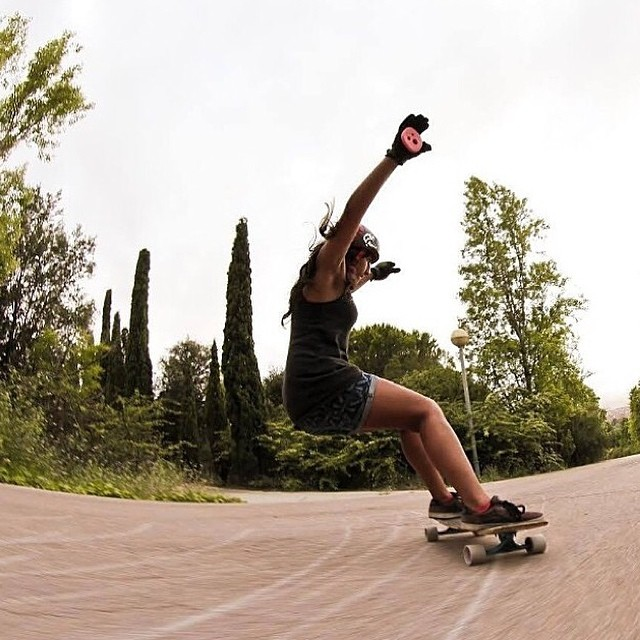 @neena405 is always a boss. Shot by @agboton #longboardgirlscrew #girlswhoshred #getthem