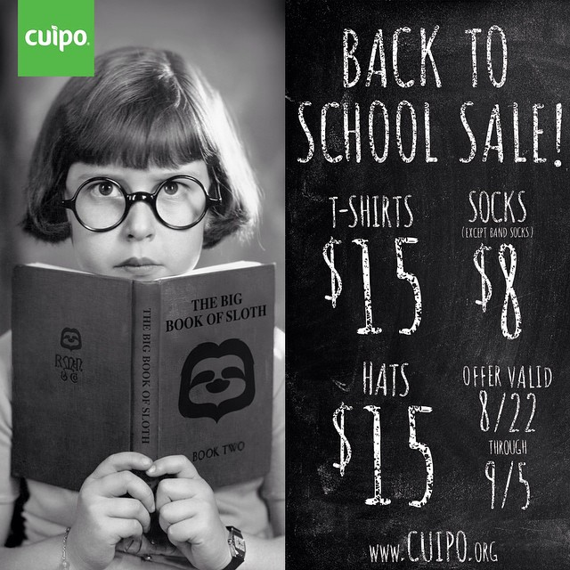 Summer might be coming to an end, but the #Cuipo #BacktoSchool sale is just starting!