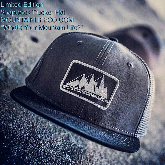 "Limited edition snapbacks are apart of our #summer #flashsale for more styles visit: MOUNTAINLIFECO.COM #mountainmen #mountainwomen #throwback ""What's your #MountainLife?"" #backcountry #biking #boarding #BMX #bouldering #campvibes #climbing #camping..."
