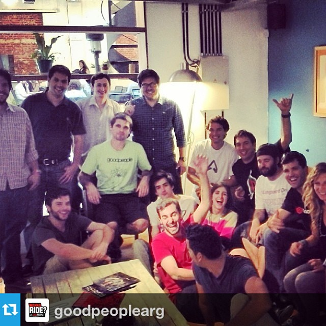 It's always a fun time visiting the @goodpeoplearg team in #BuenosAires #GoBigDoGood #Regram