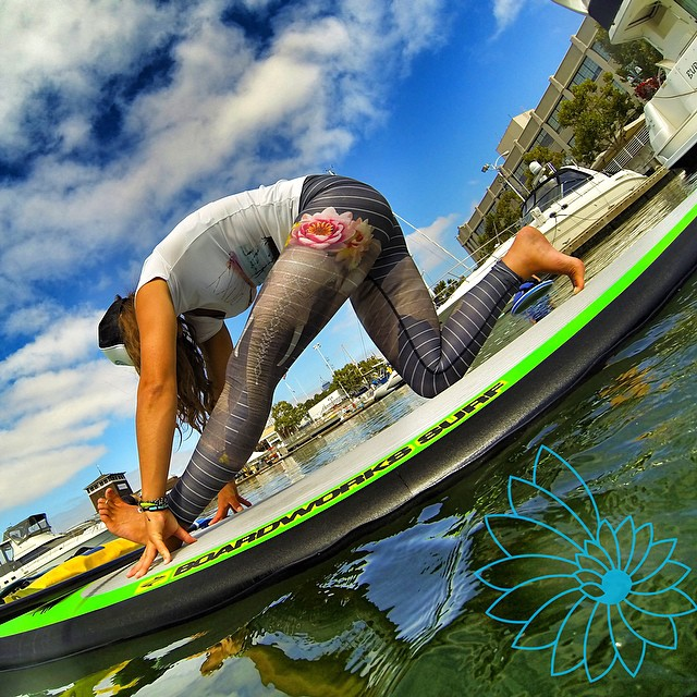 Sun's out Trunk's out! @teekigram #supyoga #oakland