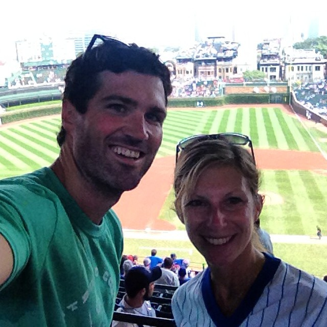 Yeeeah so stoked // Play Ball @mcelberts #wrigley #cubs #chicago #baseball #summer #americaspasttime