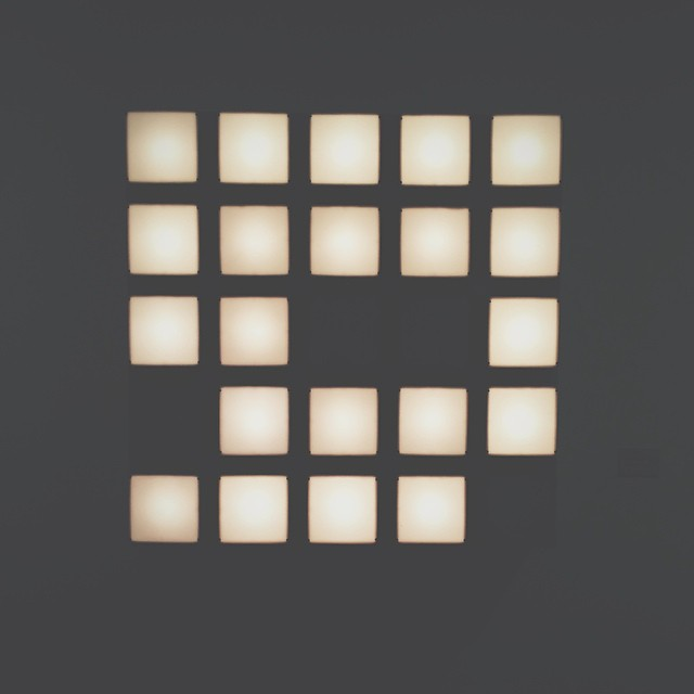 ▫️▪️▫️ #square #art #mamba #buenosaires #apple #iphone #leds #light #museum #argentina