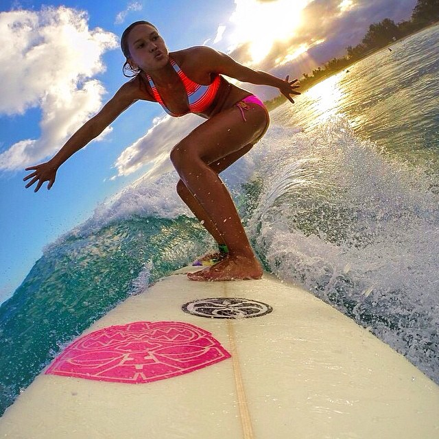 Sunset surf sessions | #lifesabeach #surfing #gurfer #gopro #goprooftheday #kameleonz pic by @key_ana808 Save 30% with promo code BACK2SCHOOL | Click the link in our bio to start saving!