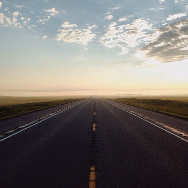 Let the road guide your adventure this weekend. Photo: @cruiserlifestyle  #weekend #adventure #exploring