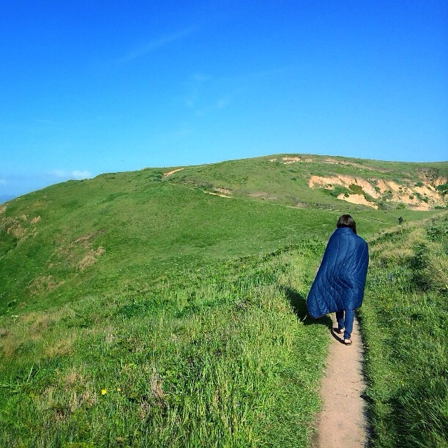 Exploring the grassy yet rugged California coast near Pt. Reyes. #gorumpl #path #explore #california #coast #ptreyes