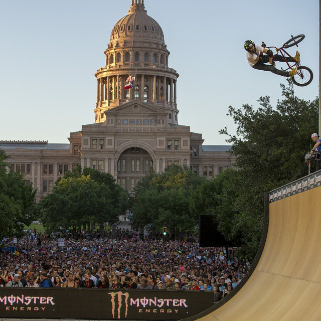 X Games Austin has been nominated for a 2014 SportsTravel Award! Hit the link on our profile page to hook us up with a vote.  What was your favorite moment this year? (Photo via @espn_images)