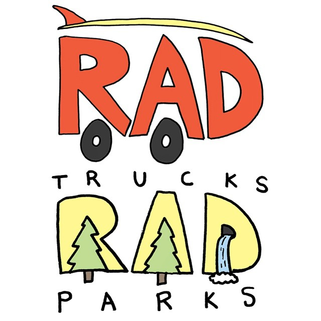 We are so stoked to announce our first artist collab with amigo @kbut! As a follow up to his amazing series #radcarswithradsurfboardsonthem we introduce #radtrucksinradparks. These clever hand drawn depictions of cars showcase a #radtruck with a...