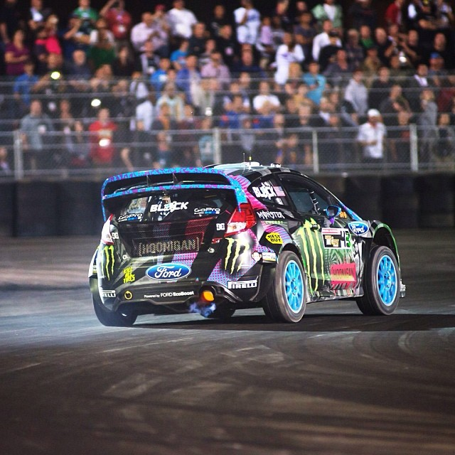@kblock43 for the win! Check the full recap from @globalrallyx Las Vegas at Xgames.com #grc (Photo @lanced )