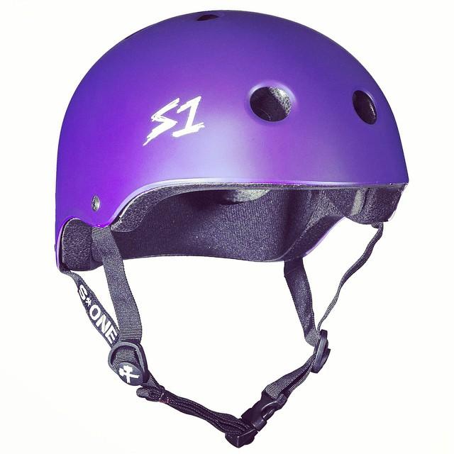 S1 Lifer Helmet Color: Purple Matte MSRP: $49.99 In-Stock Now . 5x more protective than regular soft foam skate helmets. #s1helmets