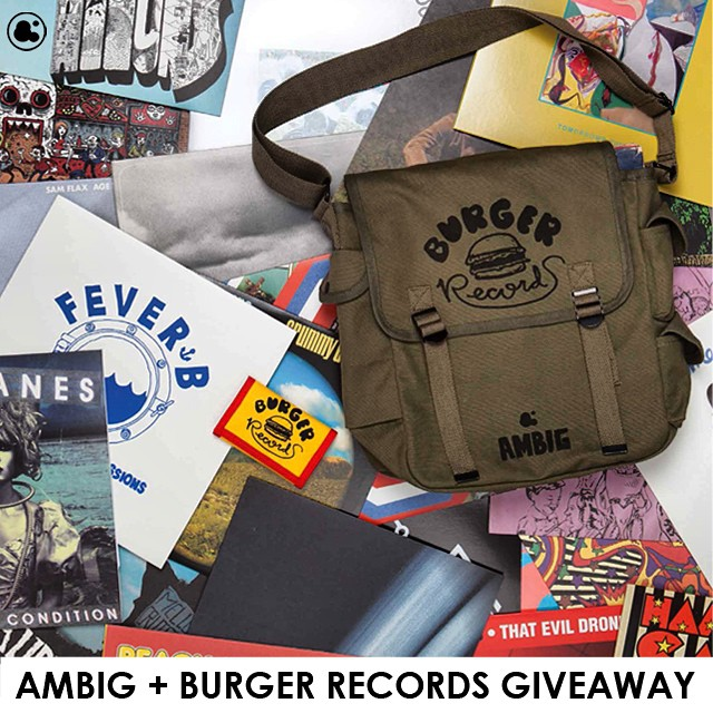 Who wants this sick @burgerrecords4life X Ambig record bag filled with a bunch of burger jamz and ambig clothing!!?? Just tag #ambigclothing and #burgerrecords4life and @ambigclothing for your chance to win! We'll pick 2 winners next week!!