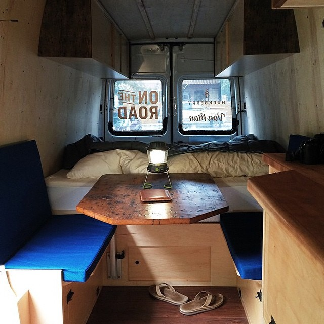 @thevanman showing off his queen size GoRumpl blanket. Share us your Rumpl stories. #van #vanlife #exploring #camping