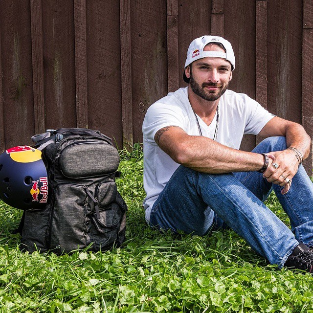 When you live life on the run, you gotta pack light!  Click the link on our profile page to check out what Corey Martinez keeps in his backpack. (Photo via @JeremyPavia)