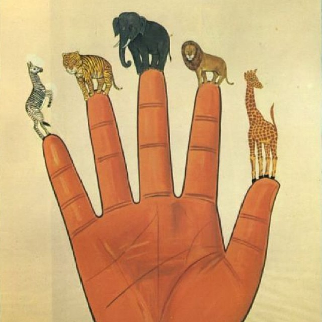 Our hands hold infinite promise. What will you create with yours? #francescoclemente