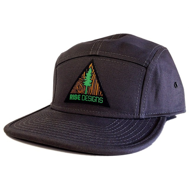 We have had a lot of request for more hat styles lately, so we are happy to introduce this 5 panel camper style hat. Not gonna lie, it's really nice quality. For sale starting tomorrow at risegraphics.com #camperhat #fivepanel #risedesigns #natureinspired