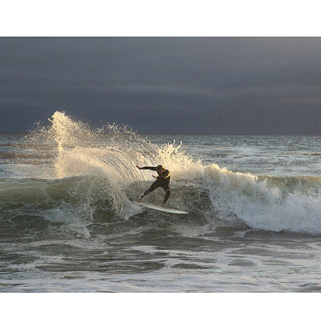 Chris @tirebasura  on #awesomesurfboards captured by @vaneavery  Santa Cruz backlight #awesome #santacruz #madeincalifornia #ishouldbesurfingrightnow