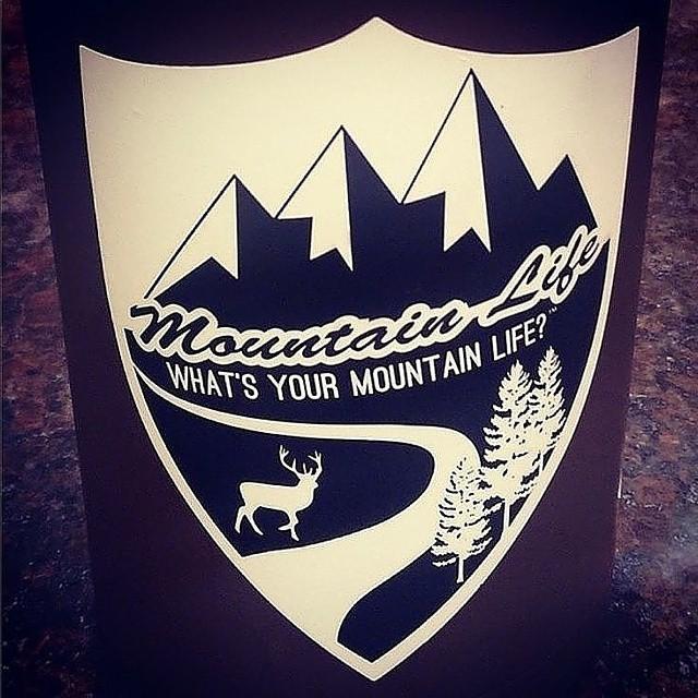 """#limitededition #MountainLife #decals #flashsale MOUNTAINLIFECO.COM """"What's your #MountainLife?"""" #backcountry #biking #boarding #bouldering #campvibes #camping #rockclimbing #roadbiking #mountainbiking #flyfishing #hunting #hiking #ski #snowboard #yoga..."""