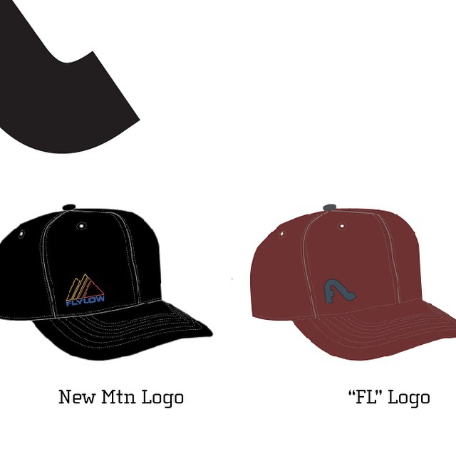 We need some help designing this new hat.  Which design do you all like better?