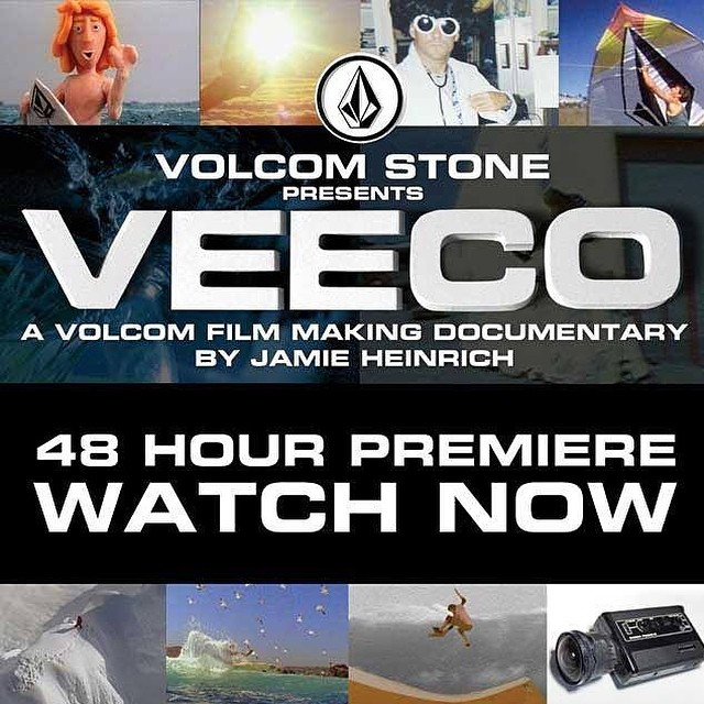 Get it while ya can! Much respect to the Volcom crew. Hit up www.volcon.com/veeco to watch the legends at work.
