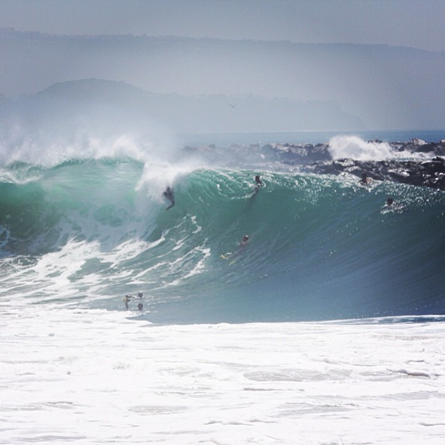 ~The Wedge going OFF today in #NewportBeach ~ #TheWedge #HurricaneMarie