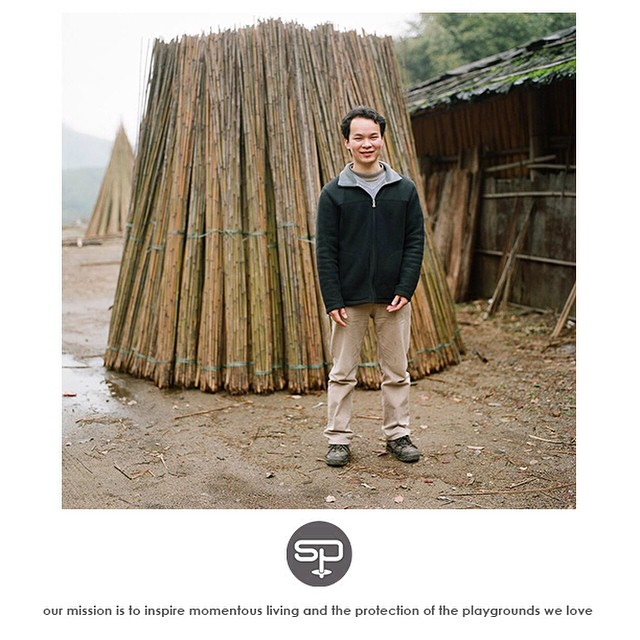 Soul family, meet Charles.  _________________________________  Charles is the face of Soul Poles bamboo in Guangdong, China.  He is the one who makes sure every piece of hand picked, sorted, and sized bamboo we receive here in Park City, UT is...