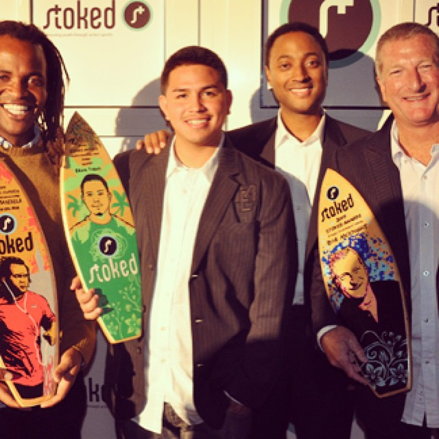 #tbt #StokedAwards 2009 winners #actionempowers @drubner @salmasekela