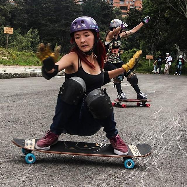 Go to www.longboardgirlscrew.com and check Longboard Girls Crew Colombia rider Gina Camelo! #longboardgirlscrew  #girlswhoshred