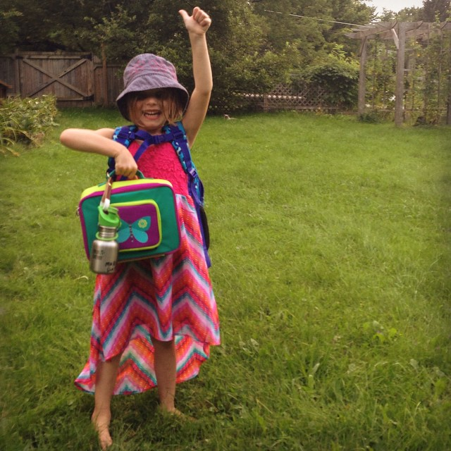 School starts this week, and Margot's teacher asked all kindergarteners to bring #reusable water bottles. Show us how your family is committing to a plastic-free start to the school year. Please share pics of your kids and their lunch boxes, reusable...